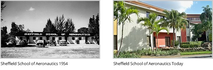 Sheffield School of Aeronautics 1954 and Today