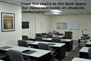 Main Classroom view