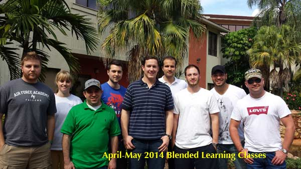 April-May 2014 Blended Learning Classes picture