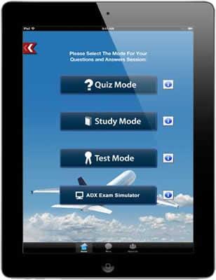 ADX Test Prep App - Sheffield School of Aeronautics