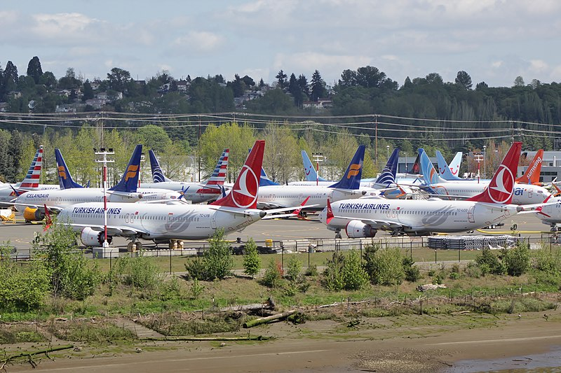 boeing 737 max grounded, runway