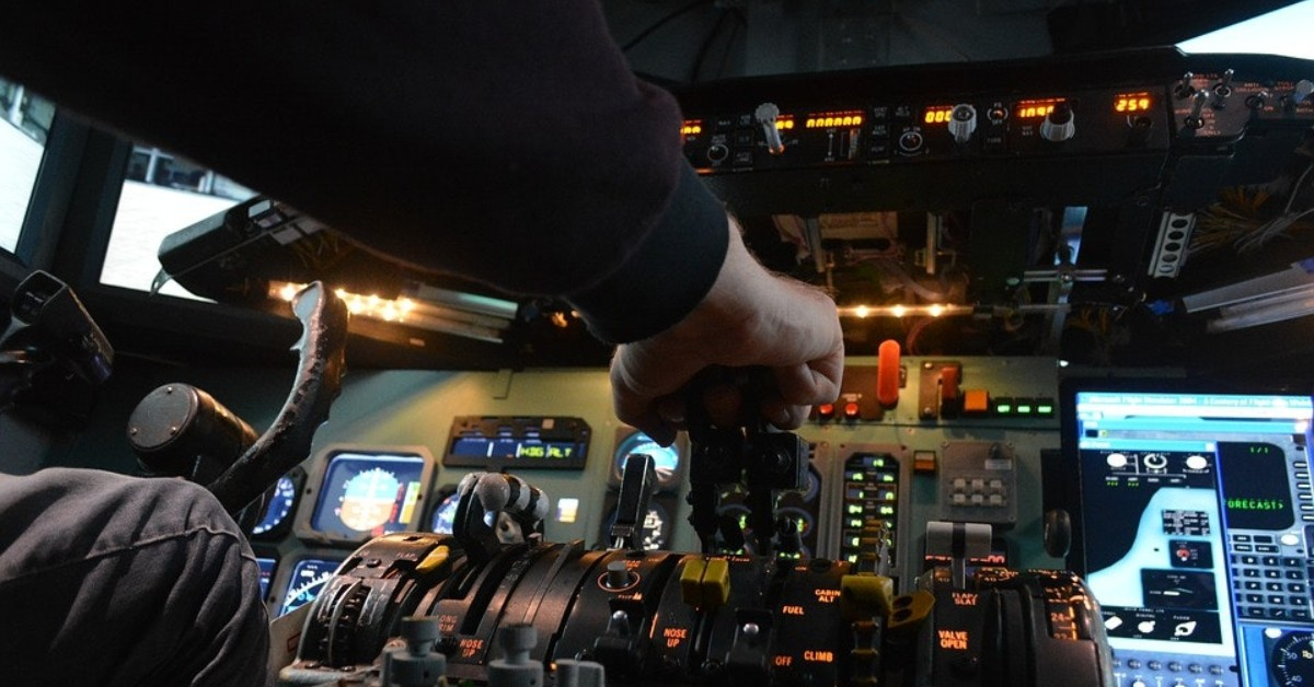 aircraft dispatch learning from flight simulator