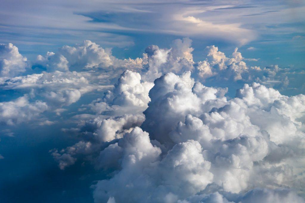 big fluffy clouds