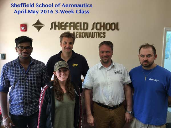Sheffield School Blended Learning 3-week class - April-May 2016