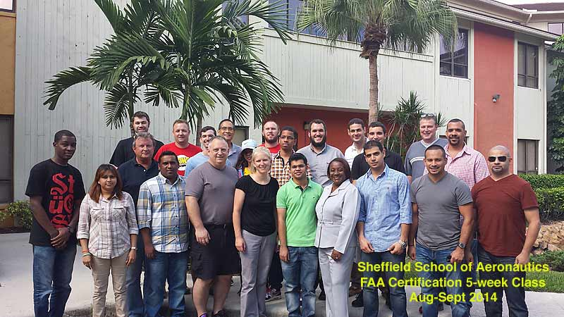 Aug-Sept 2014 5-week Airline Dispatcher Class picture