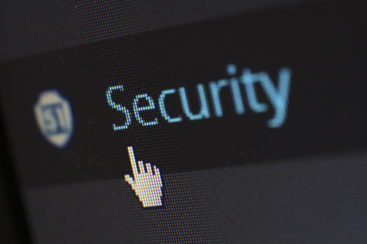 computer screen, security