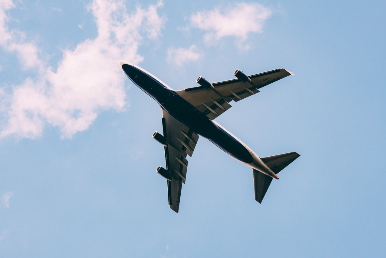 plane, sky