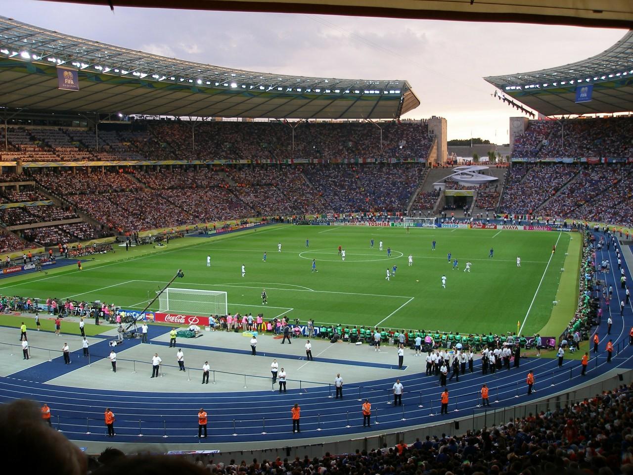 world cup soccer stadium